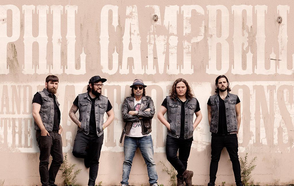 Phil Campbell And The Bastard Sons plays Motörhead